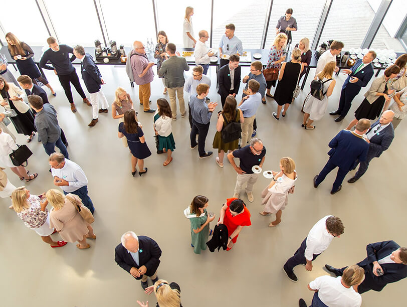 Crowds at the Global Lithuanian Leaders Summer Gathering 2019