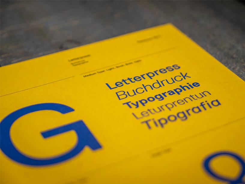 typesetting example