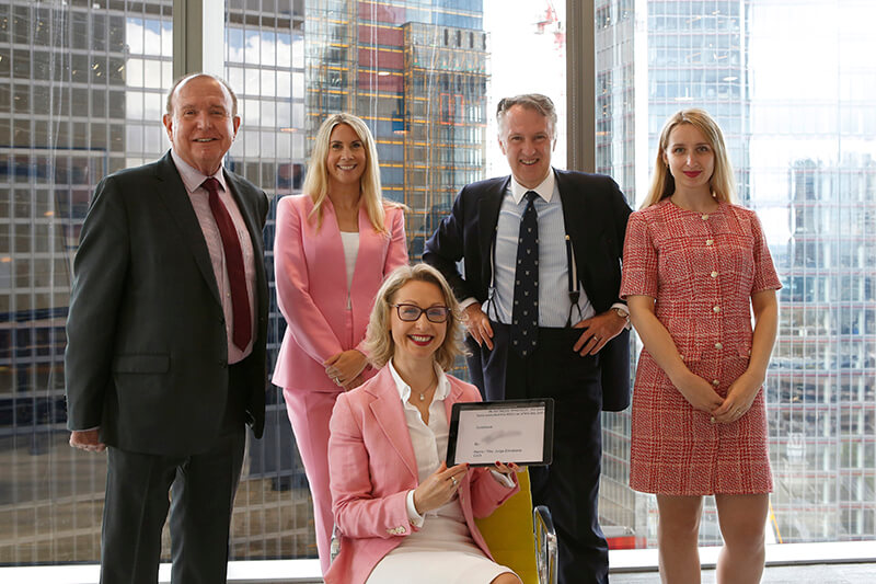 Guildhawk Management team sign MOU with Gammon Construction